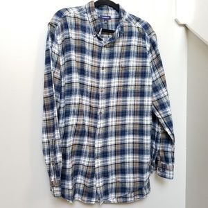 Men's Croft & Barrow Plaid Shirt Size Large